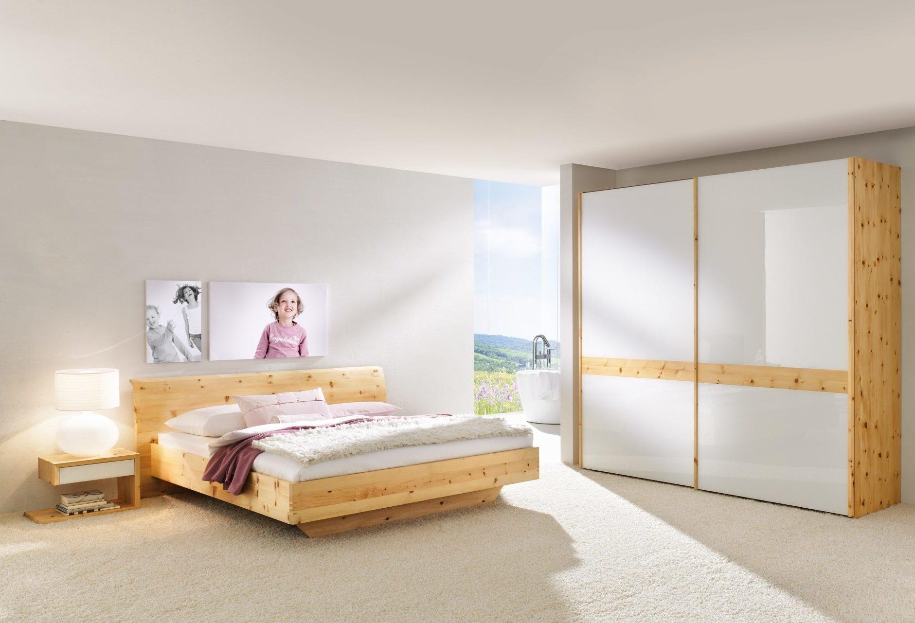 Schlafzimmer Rio Mit Glas In Zirbe 214 Ko Control