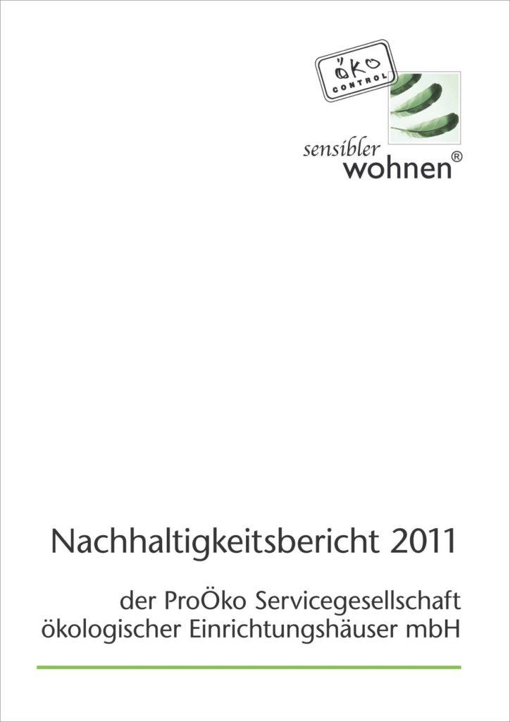 Nachhaltigkeitsbericht Cover