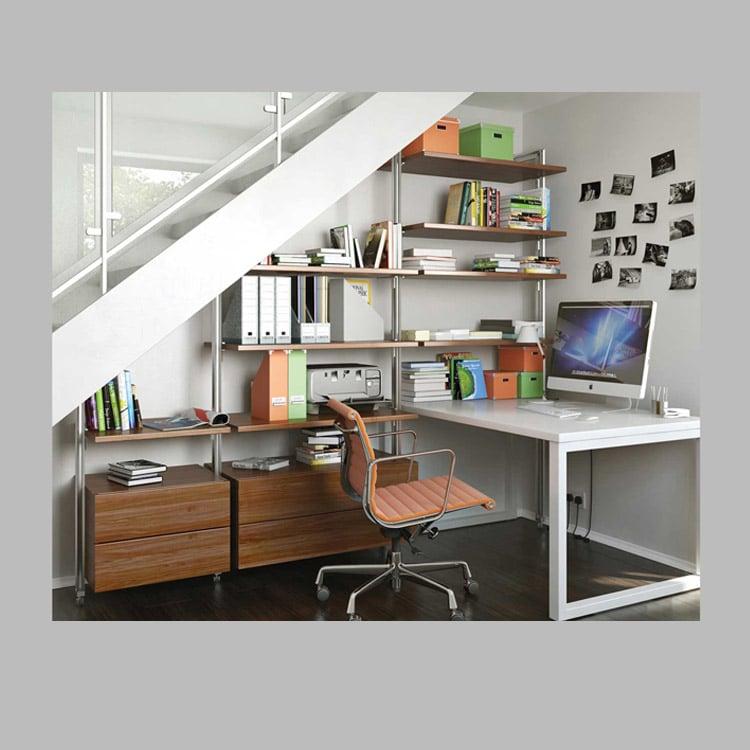 schreibtisch qubu weiss lackiert ko control. Black Bedroom Furniture Sets. Home Design Ideas